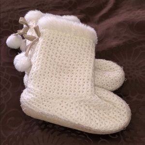 Target slipper boots: size 7-8